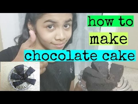 HOW TO MAKE EASY CHOCOLATE CAKE | EASY DIY