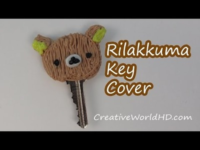 How to Make Rilakkuma Key Cover.3D Printing Pen DIY Tutorial by Creative World