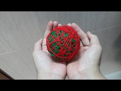 How to Make Yarn balls Easy Easy DIY