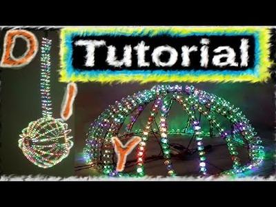 Led Geometrio ball lamp Tutorial DIY