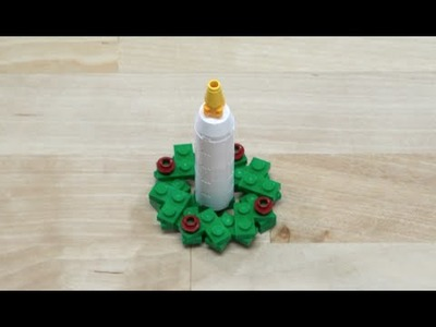 LEGO® Creator - How to Build a Candle Wreath - DIY Holiday Building Tips