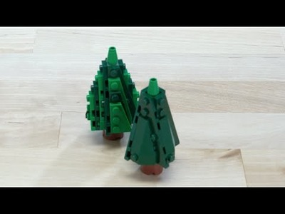LEGO® Creator - How to Build a Evergreen Tree 2 - DIY Holiday Building Tips