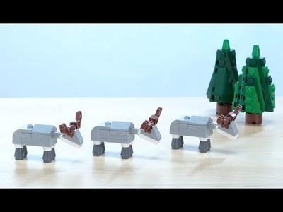 LEGO® Creator - How to Build a Reindeer - DIY Holiday Building Tips