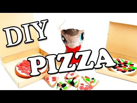 Miniature Pizza Tutorial - DIY Food for LPS and Dolls
