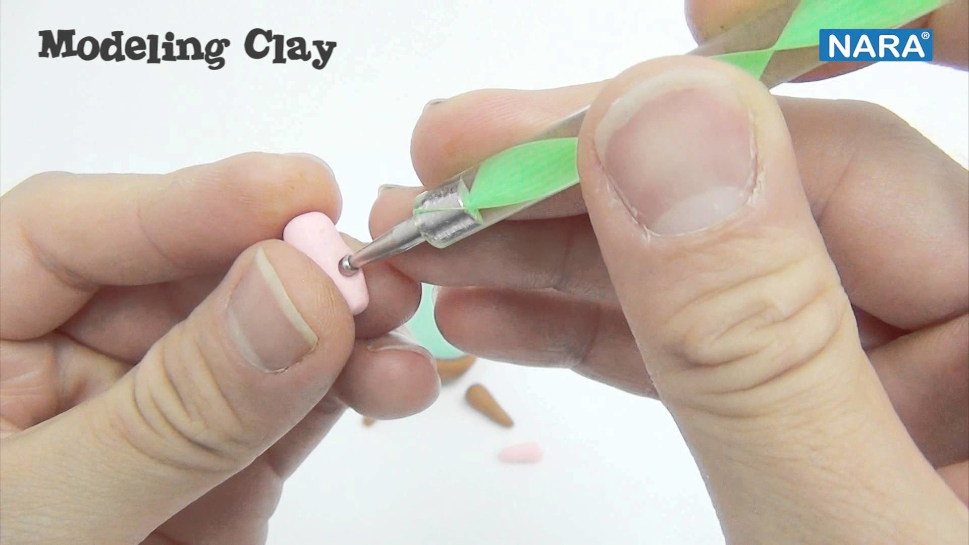 NARA Tutorial: MODELING CLAY_how to make MOUSE