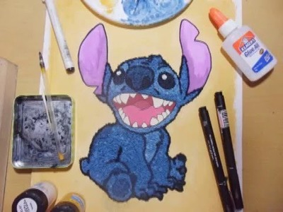 Stitch Paper Clay Portrait - Time Lapse (DIY Paperclay)