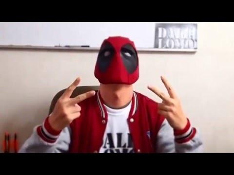 Timelapse - Making Deadpool Mask | Costume Prop | How To | Dali DIY