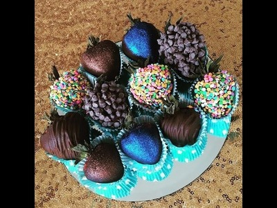 Chocolate Covered Strawberries: DIY Mother's Day Gift Idea