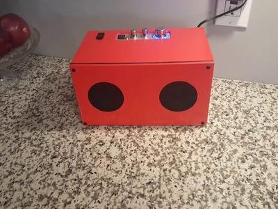 DIY Bluetooth Speaker Build - The Finished Speaker