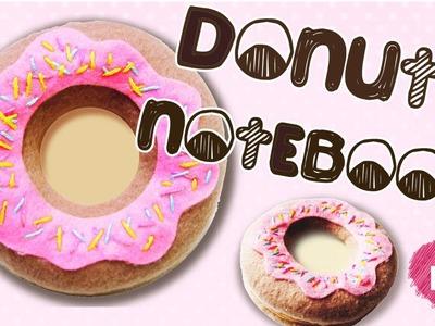 DIY Doughnut Notepad Tutorial | How To Make a Donut Notebook