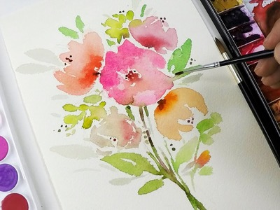DIY Painting : Simple Flower Clipart