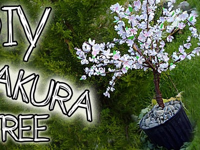 [DIY] Paper SAKURA -Cherry Blossom TREE *with tutorials #music by NoCopyrightSounds