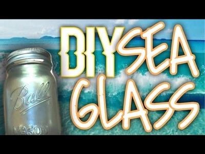 DIY: SEA GLASS JAR | HOW TO MAKE SEA GLASS