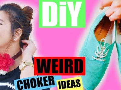 DIY WEIRD CHOKER IDEAS.PEARLYAO