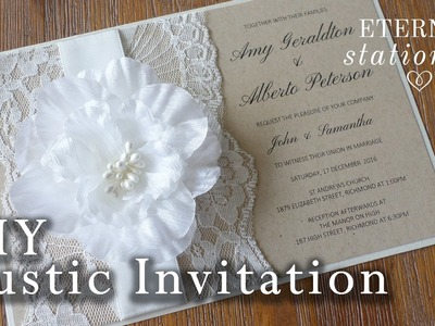 How to: DIY Wedding Invitation