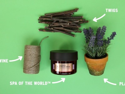 How-To: Make the prettiest plant pot | DIY & Upcycling | The Body Shop®