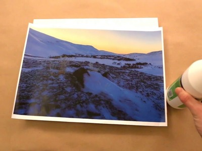 How to transfer a photo to a canvas DIY at home