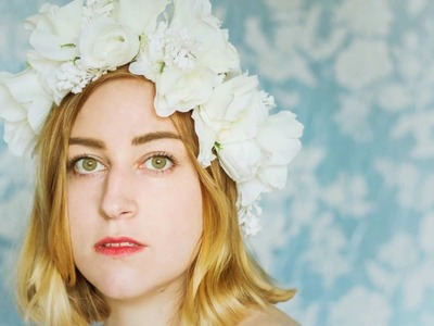 Props for Creative Photography + DIY Flower Crown Tutorial