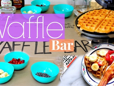 Waffle Bar | DIY Mother's Day Gift Idea!!!