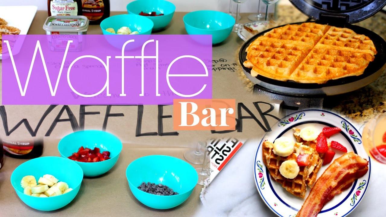 Waffle Bar | DIY Mother's Day Gift Idea!!!