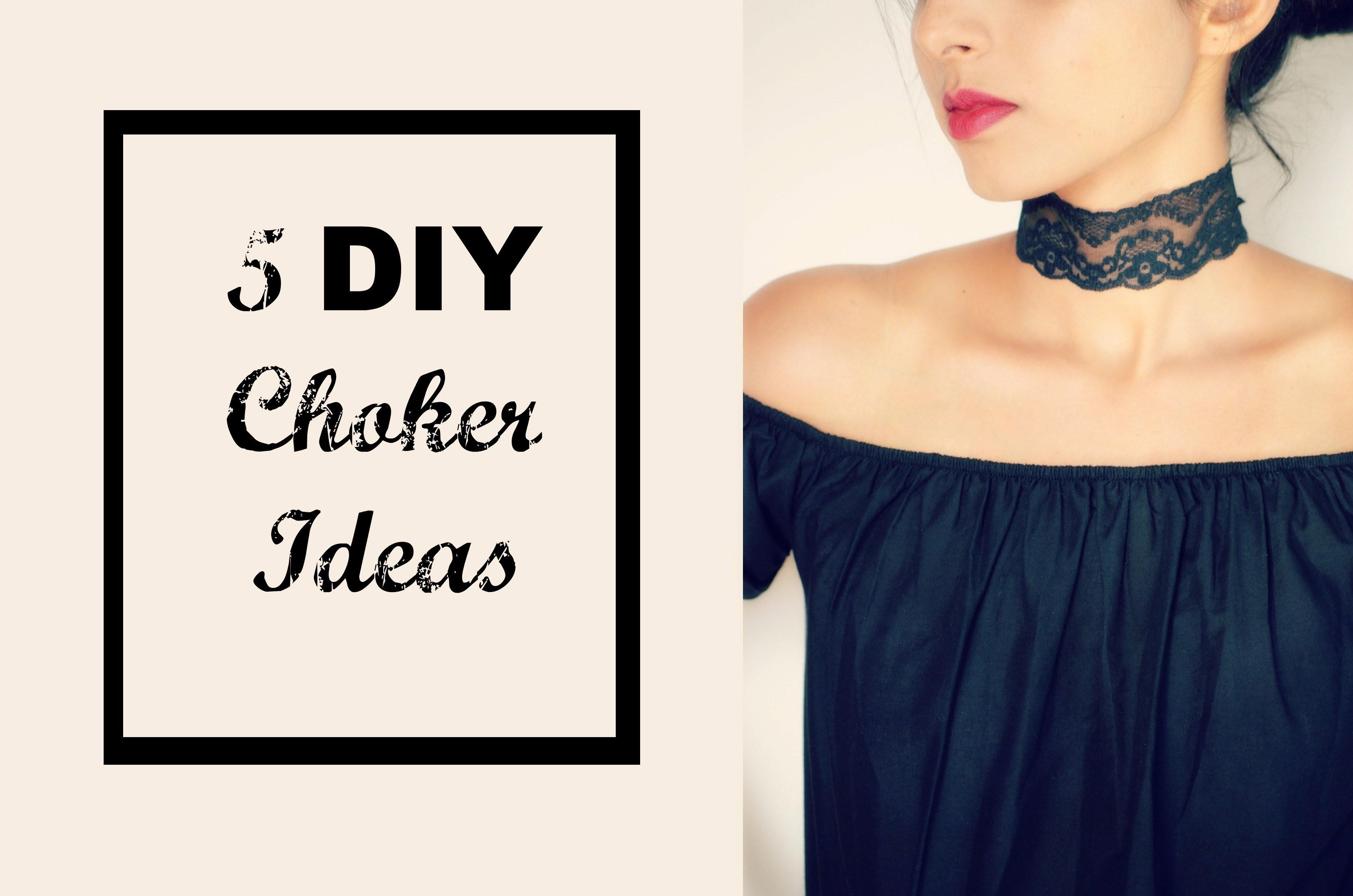 5 DIY Choker Ideas