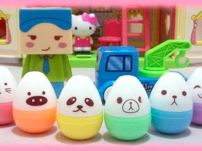 Cute School Supplies DIY Sharpeners and Surprise Eggs Highlighter Pen ♥ Toys World Video