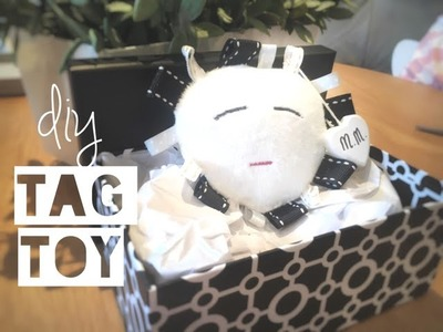 DIY BABY TAGGIE TOY | Make your own comforter - Mummy Maker