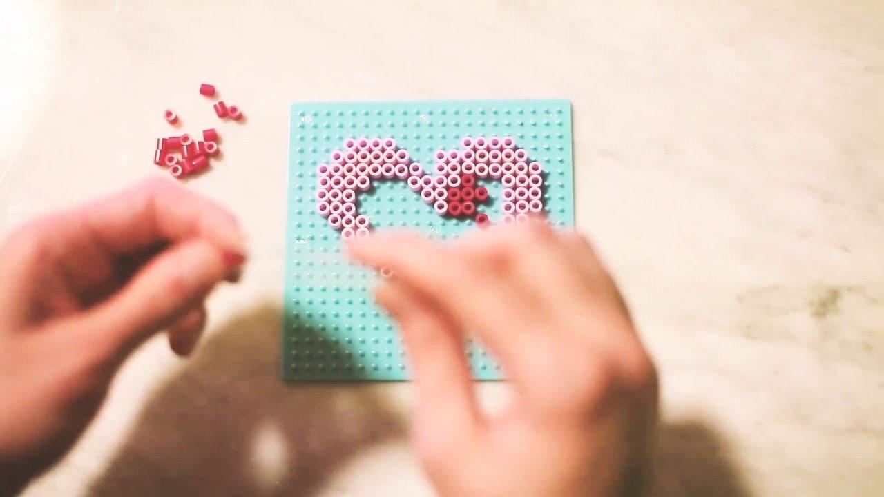 DIY: Heart Perler Bead Key Chain | Mother's Day Gift Idea