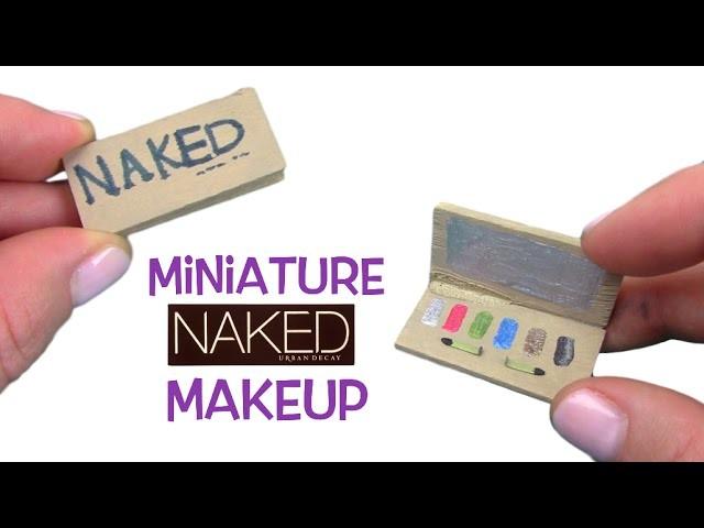 DIY Miniature Naked Eyeshadow Palette - Easy tutorial