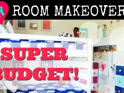 DIY Room Makeover on a Budget Reveal!