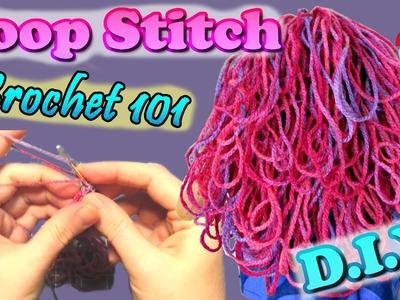 DIY | Step by Step LOOP STITCH Tutorial • Sami Doll Tutorials