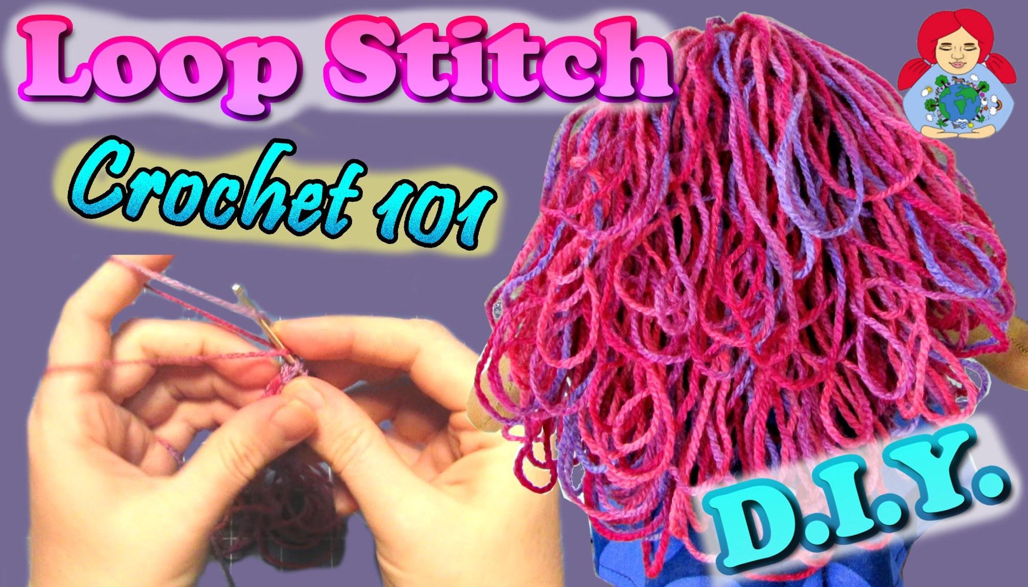 DIY   Step by Step LOOP STITCH Tutorial • Sami Doll Tutorials