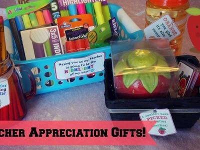 DIY Teacher Appreciation Gifts | Affordable