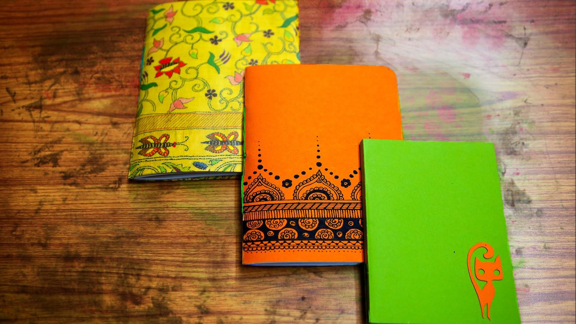 How To Make A Handmade Book | DIY Paper Crafts