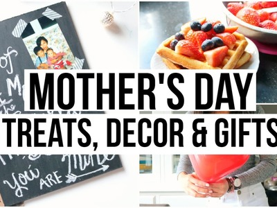 Mother's Day DIY's: Decor, Treats & Gifts