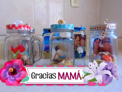 Regalo Rápido para el Día de las Madres- DIY MASON JARS