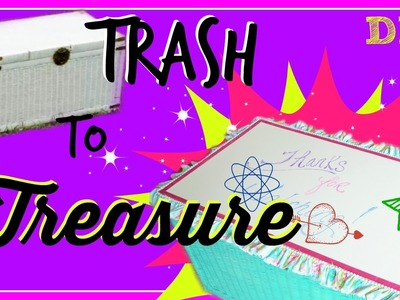 Trash to Treasure - DIY Toy Box