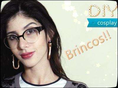 TUTORIAL cosplay - Brincos Boa Hancock - DIY