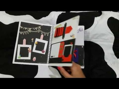 BIRTHDAY SCRAPBOOK FOR FRIEND - BY HANIETA - DIY