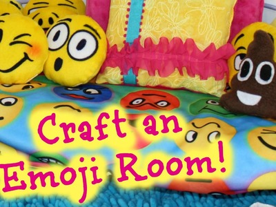 DIY American Girl Doll Emoji Bedroom Crafts