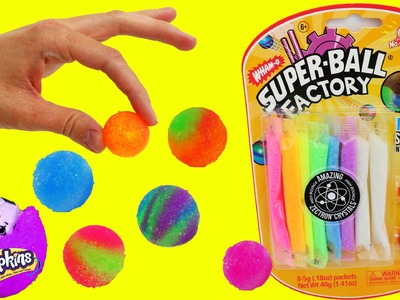 DIY BOUNCY BALLS Rainbow Colored Bouncy Balls Super Fun For Kids by DisneyCarToys