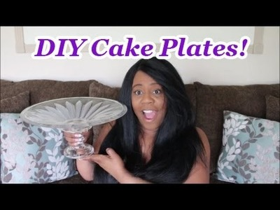 DIY Cake Plate Challenge with Crafty Kitty