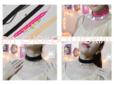 DIY Choker Tutorial| Anniversary Special Video| Giveaway