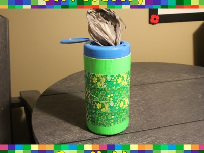 DIY: Grocery Bag Holder!