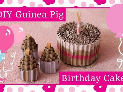DIY Guinea Pig Birthday Cake Toy Tutorial