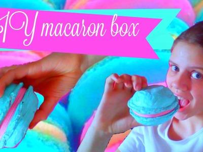 DIY macaron box