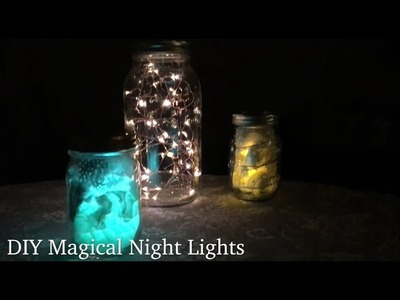 DIY Magical Night Lights 3 Different Ways with Frux Home and Yard