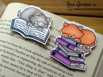 DIY Magnetic Bookmarks ft Newton's Nook Designs