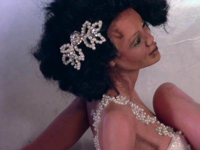 DIY- Mini tiara  or hair ornaments for your dolls
