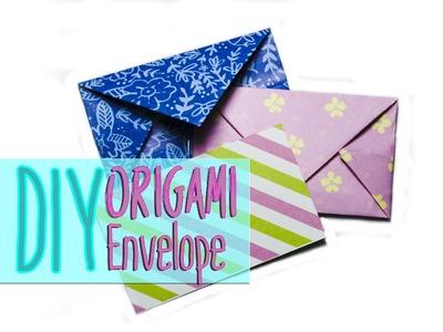 DIY: origami envelope
